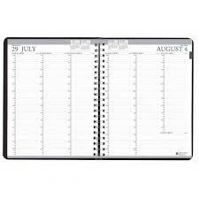 Academic Weekly Calendar