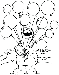Sesame Street Christmas Coloring Pages Admakerme