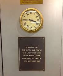 file memorial plaque with clock king s