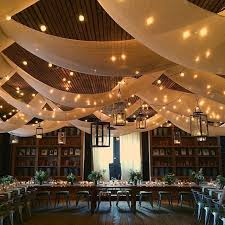 Wedding lighting ideas reception Design Ideas coastal Wedding Ceremony string Lightshttpswww Brides Ways To Use Draping At Your Reception For An Upscale Look Brides