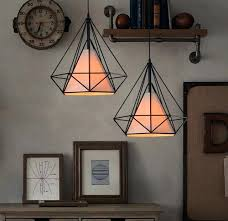 deco lamp shade sim design pendant chandelier lights for living room with lampshade art style hanging