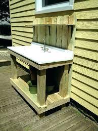 outdoor garden sinks home depot sink station