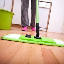 cleaning hardwood floor properly
