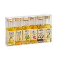 italian gourmet gift set six olive oil sling set 6x18ml