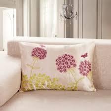long lumbar pillow. Wonderful Lumbar Embroidered Long Herb Lumbar Pillow With