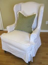 Chair slipcovers with arms Sofa Linen Wingback Chair Slipcover Paristriptips Design Linen Wingback Chair Slipcover Paristriptips Design Elegant