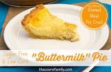 buttermilk pie diabetic