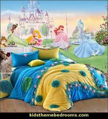 Disney Dancing Princess Wall Mural Roommates Flower Bedding Girls Princess  Themed Bedrooms