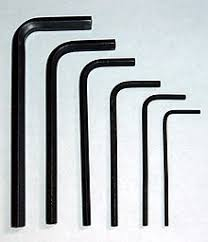 Allen Key Size Chart Hex Key Wikipedia