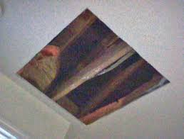 install a whole house exhaust fan yourself raw hole cut in ceiling for attic fan