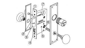mortise door lock parts. Simple Parts Marksmetro91mortiselockdrawing_10344094tif And Mortise Door Lock Parts N