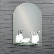 Frame Arched Bathroom Mirrors