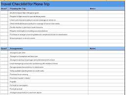 Summer Holiday Packing List Template Travel Planner Vacation By ...