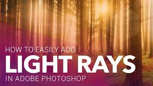 Add Light Rays In Photoshop How To Easily Add Light Rays In Photoshop