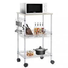 utility cart wire 3 tier rolling cart organizer nsf kitchen cart on wheels metal 0
