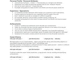 Resume Personal Attributes Templates Best of Resume Personal Qualities Personal Attributes Resume Examples Resume