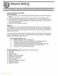 Entry Level College Student Resume Samples Fresh Sample Resume For
