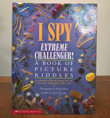 i spy extreme challenger jean marzollo walter wick first edition children s books