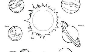Solar System Color Pages Homelandsecuritynews