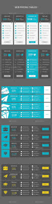 Price Chart Template 24 Best Pricing Tables Templates Images On Pinterest Fonts 13