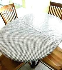 elastic table covers plastic round vinyl tablecloth with fitted tablecloths cover