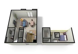 Small One Bedroom Apartment Floor Plans One Bedroom With Loft Floor Plans Apartment Studio Designs Ikea