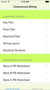 commercial wiring diagrams sample on the app store iphone screenshot 1
