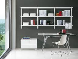 cheap office shelving. Cheap Office Room Design With Floating Bookshelves Target And Glass Desk Plus Mid Century Chair Shelving C