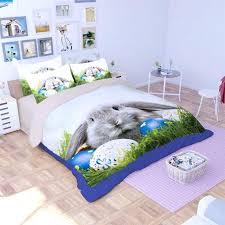 bunny bedding set cute bunny printed bedding set 3 cute bunny printed bedding set bunny crib bedding sets