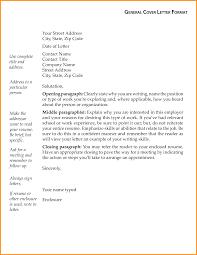 10 General Letter Format Cook Resume