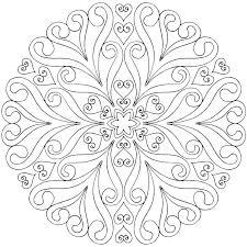 Mandalas Coloring Pages Free Printable Adult Mandala Coloring Pages