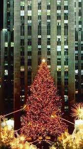 Christmas Tree Lights City Festival 4k ...