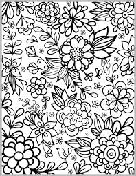 Coloring Pages Of Flowers Elegant Butterflies On Flowers Coloring