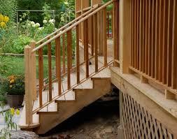 cut custom exterior stair stringers
