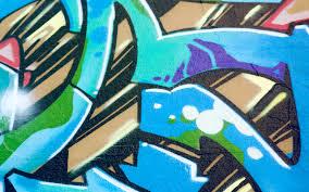 2560x1440 Graffiti Blue Youtube Channel Cover