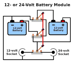 mix match solar power modules wiring diagram for how to connect two 12 volt batteries to switch between 12 or 24