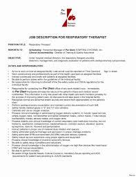 Respiratory Therapist Resume Sample Respiratory therapist Resume Sample Inspirational Respiratory Care 19