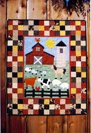 Suzanne's Art House - Quilts & AT THE FARM Stock #105 30