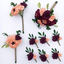 Paper Flower Bouquet For Wedding Wedding Bouquet Recreation And Lasting Paper Flowers Petal