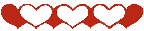 Image result for valentine heart border