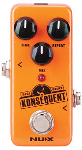 <b>NUX Konsequent Digital</b> Delay Pedal - A Strings