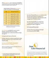 sunlife life insurance quote cool sun life term insurance rates 44billionlater