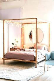 Full Canopy Bed Frame Metal Canopy Bed Frame Queen Canopy Bed Frame ...