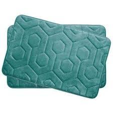 memory foam bath mat set