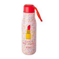 <b>Stainless Steel Thermo</b> bottle - Pink   RICE EU
