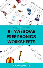 This book contains all of the worksheets for lesson 5 from www.phonics.com. 8 Awesome Free Phonics Worksheets Phoenix Worksheets Worksheets Free