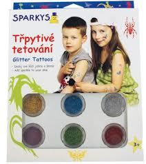 Třpytivé Tetování Na Sparkyscz