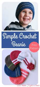 Free Crochet Beanie Hat Patterns