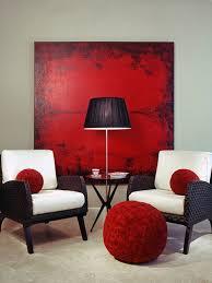 Red and black furniture Black Fabric Sofa Redlivingroom431 Wayfair 100 Best Red Living Rooms Interior Design Ideas
