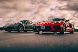 Whats the best insurance company for corvette insurance. Transatlantic Tussle Porsche 911 Meets C8 Chevrolet Corvette Autocar